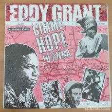 Discos de vinilo: EDDY GRANT - GIMME HOPE JO´ANNA (MX) 1988. Lote 295767318