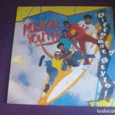 Discos de vinilo: MUSICAL YOUTH – DIFFERENT STYLE - LP MCA 1984 PRECINTADO - DISCO POP REGGAE FUNK. Lote 295768543