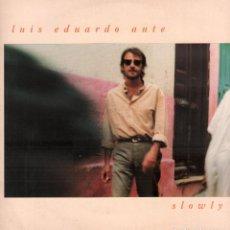 Discos de vinilo: LUIS EDUARDO AUTE - SLOWLY / LP ARIOLA 1992 / CON ENCARTE / BUEN ESTADO RF-10688. Lote 295774758