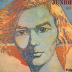 Dischi in vinile: JUNIOR - MISMO TITULO / LP RCA 1975. CON ENCARTE Y DOBLE PORTADA. / DISCO RARO RF-10690. Lote 295775068