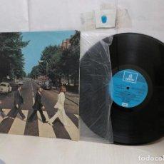 Discos de vinil: THE BEATLES --ABBEY ROAD --1969--ODEON -SPAIN -TIENE MUCHAS RAYITAS EL DISCO--. Lote 295775093