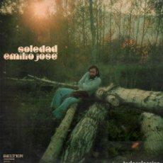 Dischi in vinile: EMILIO JOSE - SOLEDAD / LP BELTER DE 1973 / BUEN ESTADO RF-10691. Lote 295775188