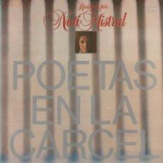 """Discos de vinilo: NATI MISTRAL - RECITA """"POETAS EN LA CARCEL"""" / LP COLUMBIA 1983 / BUEN ESTADO RF-10692. Lote 295775548"""