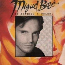 Discos de vinilo: MIGUEL BOSÉ - DE BANDIDO A DUENDE / LP WEA 1988 / CON ENCARTE / BUEN ESTADO RF-10693. Lote 295775653