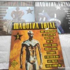 Discos de vinilo: LOTE- 3 DISCOS DOS DE ELLOS DOBLES DE MAQUINA TOTAL - 2 - 3 - 4-. Lote 295778603