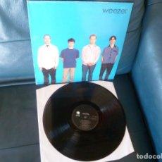Discos de vinilo: WEEZER WEEZER BLUE DIFICILISIMO VG+ LP VINILO 1994 UK PRIMERA EDICIÓN. Lote 295779968
