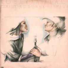 Dischi in vinile: ROBERTA FLACK - FEATURING DONN Y HATHAWAY / LP ATLANTIC 1979 / BUEN ESTADO RF-10715. Lote 295781193