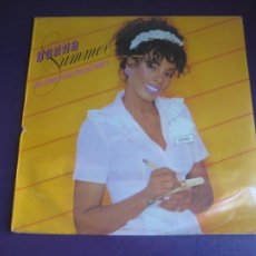 Discos de vinilo: DONNA SUMMER – SHE WORKS HARD FOR THE MONEY - LP MERCURY 1983 PRECINTADO - DISCO 70'S 80'S. Lote 295781458