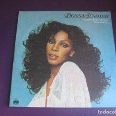Discos de vinilo: DONNA SUMMER – ONCE UPON A TIME... / ERASE UNA VEZ... - DOBLE LP ARIOLA 1977 - MORODER - DISCO 70'S. Lote 295781838