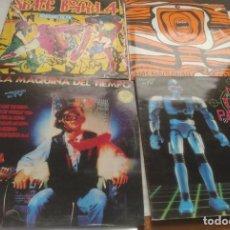 Discos de vinilo: LOTE- LA MAQUINA DEL TIEMPO 2 LP-SKATE BOARD4 -2LP-NO TE LO PIEDAS 2LP-!!!MAS MAQUINA COJONES!!!!!. Lote 295783233