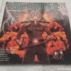 Discos de vinil: DEMOLITION MIX 2- ESPAÑA-1995-DOBLE LP CARPETA ABIERTA. Lote 295784848