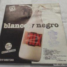 Discos de vinilo: BLANCO Y NEGRO MIX 2- ESPAÑA-1995-DOBLE LP -CARPETA ABIERTA-. Lote 295785613