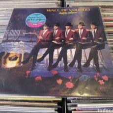 Discos de vinilo: WALL OF VOODOO–HAPPY PLANET . LP VINILO PERFECTO ESTADO.. Lote 295789088