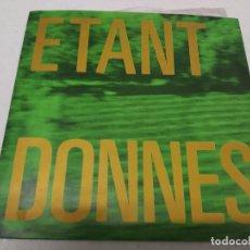 Discos de vinilo: ÉTANT DONNÉS - PLUTÔT L'EXIL DU CINQ DORÉ. Lote 295791848