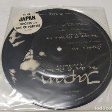 Discos de vinilo: JAPAN - GHOSTS - 7 SINGLE PICTURE DISK-. Lote 295792203