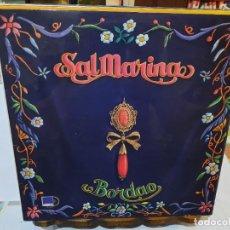 Discos de vinil: SALMARINA - BORDAO - LP. SELLO DUENDE 1986. Lote 295801368