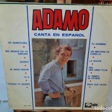 Discos de vinilo: ADAMO - CANTA EN ESPAÑOL - LP. SELLO EMI / LA VOZ DE SU AMO 1966. Lote 295802253