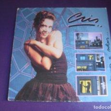 Discos de vinilo: CRIS – ESTAMOS A SOLAS - MAXI SINGLE WEA 1988 - AMISTADES PELIGROSAS - CON USO LEVE - DISCO POP. Lote 295803023