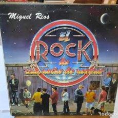 Discos de vinilo: MIGUEL RÍOS - EL ROCK DE UNA NOCHE DE VERANO - LP. SELLO POLYDOR 1983. Lote 295806678