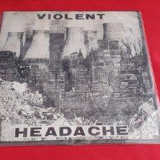 Discos de vinilo: DISCO VINILO VIOLENT HEADACHE. Lote 295810528