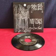 Discos de vinilo: ROTTEN FLESH HOLY TEARS EGO FUM PAPA. Lote 295813788