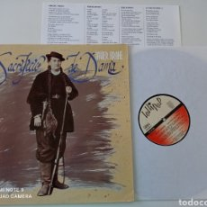 Discos de vinilo: JAVIER KRAHE - SACRIFICIO DE DAMA - LP ORIGINAL LOLLIPOP 1993 // LA YETI MUY RARO DISCO DE VINILO. Lote 295814643