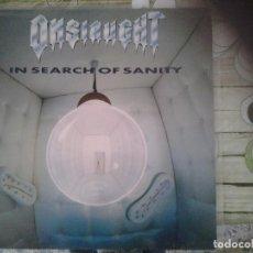 Discos de vinilo: ONSLAUGHT-IN SEARCH SANITY-1ºEDICION ESPAÑOLA 1989-THRASH, HEVY METAL, HARD ROCK. Lote 295820838