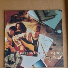 Discos de vinilo: PRESUNTOS IMPLICADOS. EL PAN Y LA SAL. 1994. 4509-95702-1. DISCO Y CARÁTULA VG ++. Lote 295821303