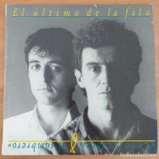 Discos de vinilo: EL ULTIMO DE LA FILA - COMO LA CABEZA AL SOMBRERO (LP) 1988. Lote 295821598