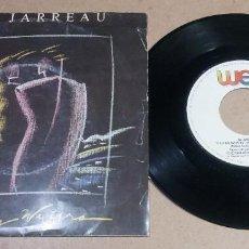 Discos de vinilo: AL JARREAU / RAGING WATERS / SINGLE 7 PULGADAS. Lote 295823178