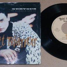 Discos de vinilo: MATT BIANCO / NERVOUS / SINGLE 7 PULGADAS. Lote 295823363