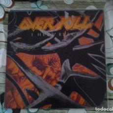 Discos de vinilo: OVERKILL-I HEAR BLACK-1º EDICION ALEMANIA1993-THRASH, HEVY METAL, HARD ROCK. Lote 295823593