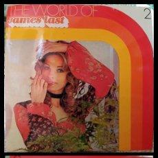 Discos de vinilo: D. LPS. JAMES LAST. THE WORLD OF. 1968.. Lote 295827498