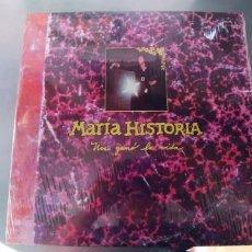 Discos de vinilo: MARIA HISTORIA-LP NOS GANO LA VIDA-PRECINTADO. Lote 295828308