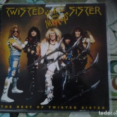 Discos de vinilo: TWISTED SISTER-BIG HITS AND NASTY CUTS- UNICA EDIC EUROPEA 1992-THRASH, HEVY METAL, HARD ROCK. Lote 295829608