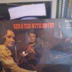 Discos de vinilo: KEN & TIIU WITHINGTON. THE TOUCH OF THE MASTER'S BAND. EDICIÓN FOCUS DE 1975 AUSTRALIA. RARO.. Lote 295835603