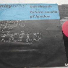 Discos de vinilo: UNITY – UNITY (NORTH/SOUTH REMIXES)-LP-UK-1996-. Lote 295837283