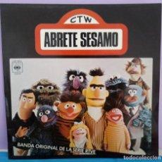 Discos de vinilo: ÁBRETE SÉSAMO - BANDA ORIGINAL DE LA SERIE TV. Lote 295852578