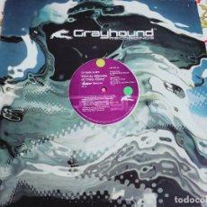 Discos de vinilo: DJ GARTH & ETI – TWENTY MINUTES OF DISCO GLORY ( REMIXES PART 2)GRAYHOUND RECORDIN GND 034.BUENO.NM. Lote 295859643