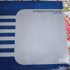 """Discos de vinilo: SHARADA HOUSE GANG – GIPSY BOY SELLO: CONTAINER RECORDS – NM7060MX FORMATO: VINYL, 12"""", VG+ / VG+. Lote 295862043"""