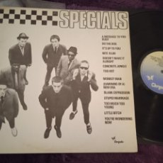 Discos de vinilo: THE SPECIALS LP MESSAGE TO YOU RUDY MADE IN SPAIN 1980 SKA. Lote 295862278