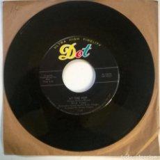 Discos de vinilo: NICK TODD. I DO/ AT THE HOP. DOT, USA 1957 SINGLE. Lote 295869883