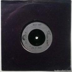 Discos de vinilo: BILLY FURY. LOVER OR MONEY/ LOVE SWEET LOVE. POLYDOR, UK 1982 SINGLE. Lote 295874903
