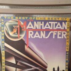 """Discos de vinilo: VINILO -MANHATTAN TRANSFER """"THE BEST OF"""" EDICIÓN ALEMANA DEL 1981. Lote 295877268"""