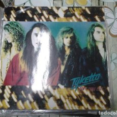 Discos de vinilo: TYKETTO-DON'T COME EASY-1ºEDICION ALEMANA 1991-HARD ROCK-AOR. Lote 295877433