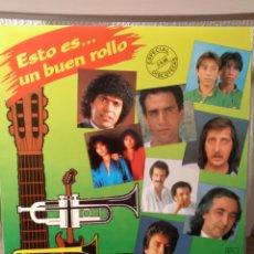 Discos de vinilo: VINILO- COMPILACIÓN ESTO ES... UN BUEN ROLLO AÑO 1986. Lote 295877563