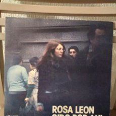 """Discos de vinilo: VINILO- ROSA LEON """"OIDO POR AHI"""". Lote 295877928"""