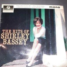 Discos de vinilo: THE HITS OF SHIRLEY BASSEY. EMI RECORDS 1963 GT. BRITAIN. Lote 295879253