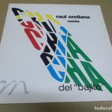 Discos de vinilo: RAUL ORELLANA (MAXI) EL CHA CHA CHA DEL BAJITO (3 TRACKS) AÑO – 1991. Lote 295879423