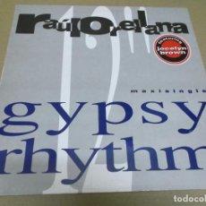 Discos de vinilo: RAUL ORELLANA FEAT JOCELYN BROWN (MAXI) GYPSY RHYTHM (2 TRACKS) AÑO – 1991. Lote 295879518